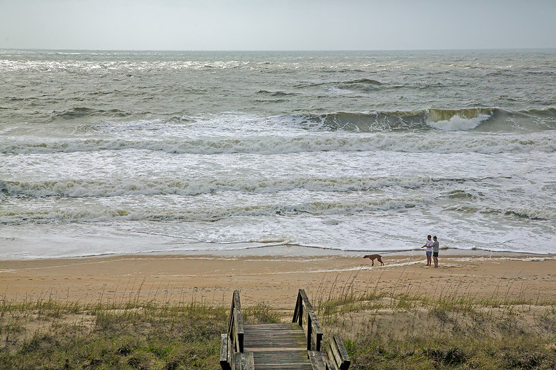 And then, Ana rolled in- Carolina Beach, NC