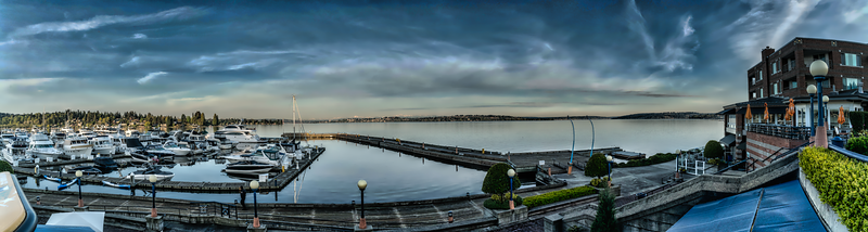 Carillon Point Marina, Kirkland, Washington