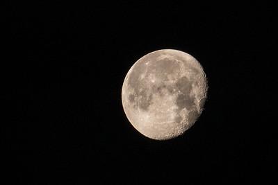 Waining Gibbous Moon
