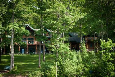 Hidden Log Mansion - Otsego Lake, NY