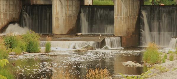 Hydro Dam at Hog's Back Park, Ottawa.