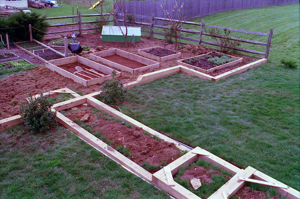 1991: Sq Foot Garden Expansion & Walkway