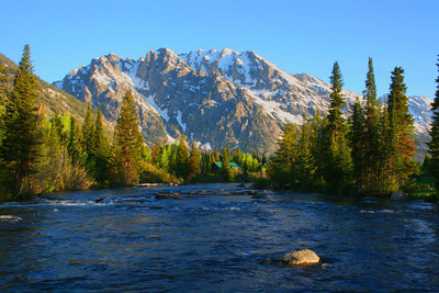 High Water In Grand Teton National Park