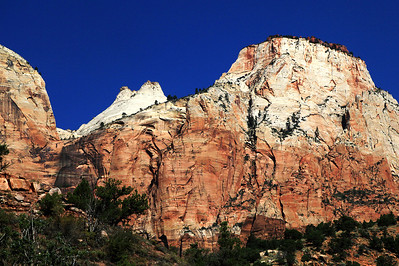 The Sentinel In Zion National Park