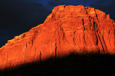 Sunset In Capitol Reef National Park