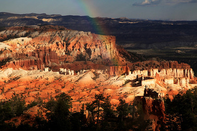 Rainbow Over Bryce Canyon National Park