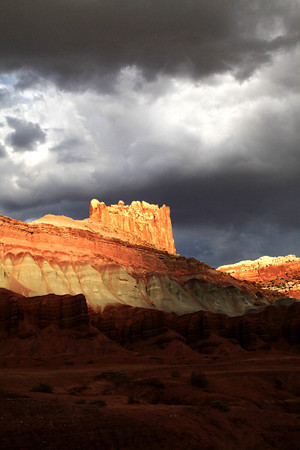 The Castle In Capitol Reef National Park
