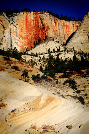 West Rim in Zion