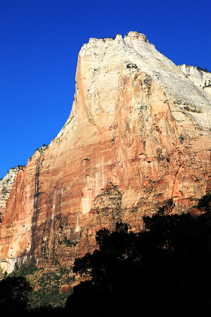 Mountain Of The Sun In Zion National Park