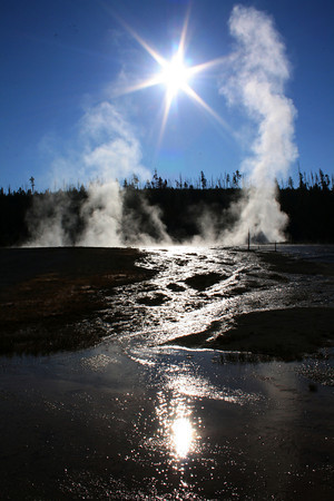 Yellowstone In The Morning