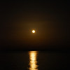 Perigee Moon Rise, Chesapeake Beach Pier, Maryland - 03/19/2011