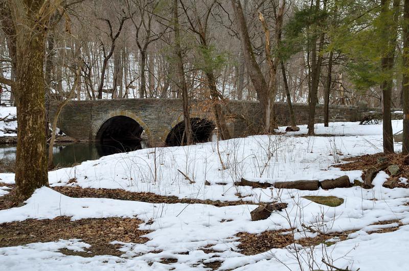 Wissahickon Creek near Forbidden Drive - Philadelphia, March 1, 2014