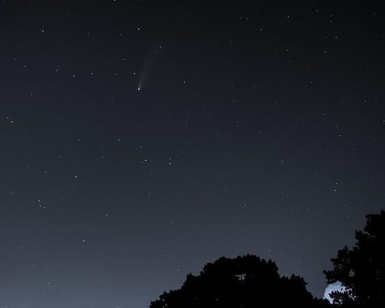 Comet Neowise July 23, 2020 Hyde Park Marietta, GA