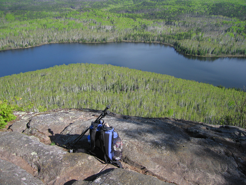 Border Route trail above Rose Lake, BWCA.