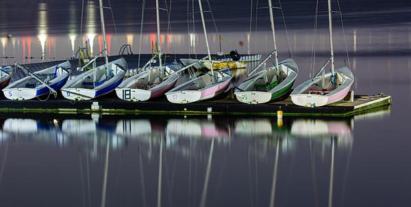 Sailboats, Boston Harbor
