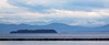 The Adirondacks across Lake Champlain
