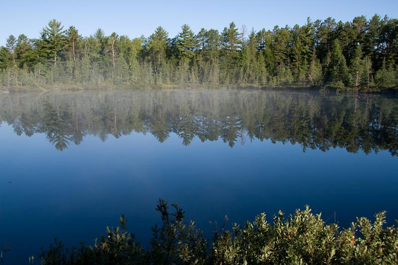 <div align=center>Smoke on Grandma Lake</div>