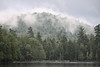 Raquette Lake outlet after storm, Adirondacks