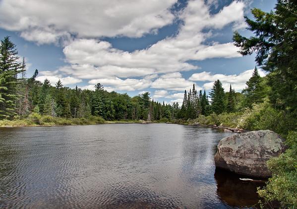 Raquette River, above Buttermilk Falls