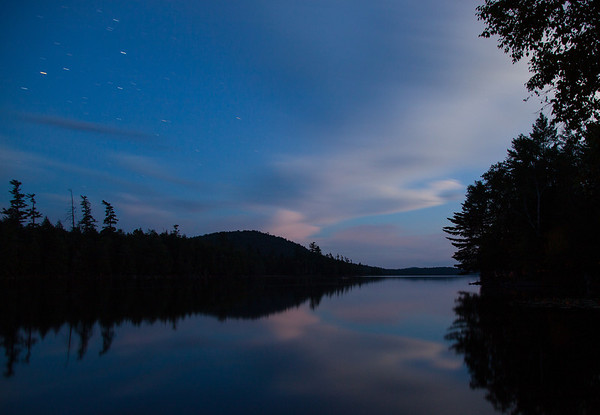 Raquette Lake, early night