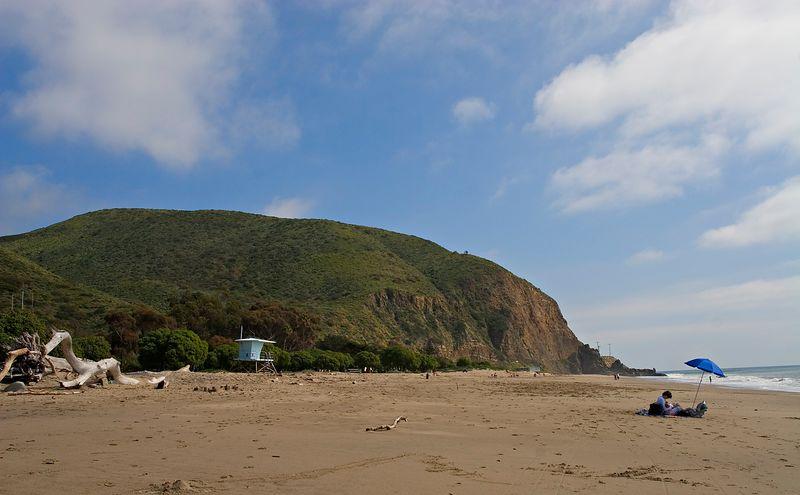 Quiet beach!