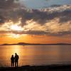 Watching sunset - Deception Pass