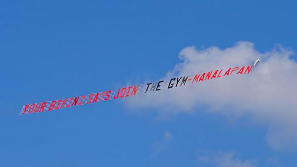 Overhead Advertisement, Boynton Inlet