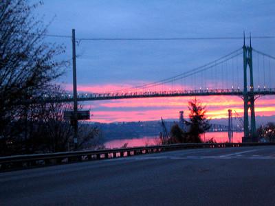 Blurry Morning Bridge