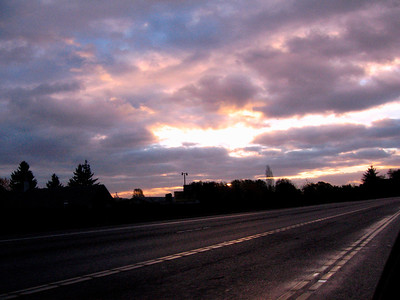 Morning Highway View