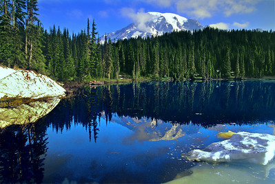 Reflection Lake, Mt Rainier wa0899_30