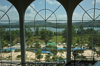 View from lobby, Gamboa Rainforest Hotel