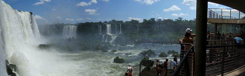Iguassu Falls, the Brazilian side. February 2006
