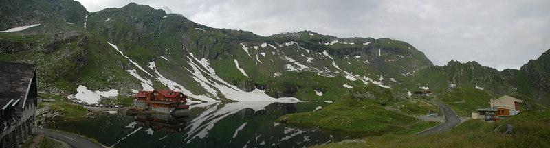 Lake Balea in Fagaras Mountains, Romania<br /> July 2006