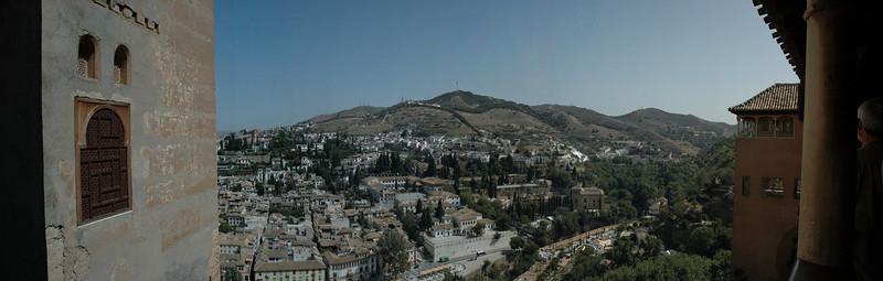 Alhambra, vedere spre Granada
