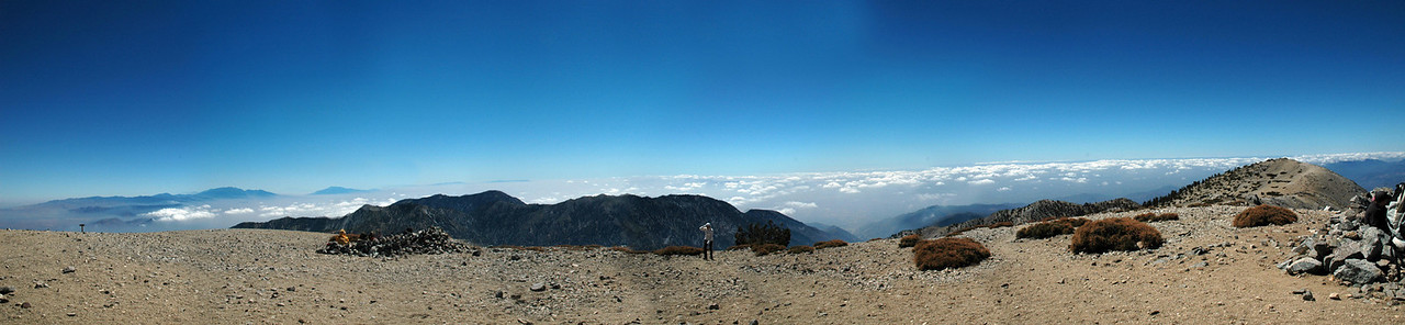 Location: Mt. Baldy Summit, CA<br /> Software: Photoshop