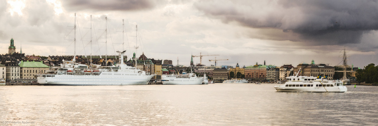 Stockholm Seeside view