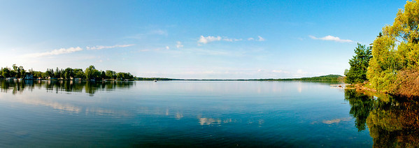 The bay on a Lake in Northern Minnesota