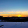 Schoharie Valley Sunset shot from Stony Brook Road.
