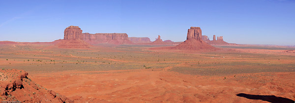Artist Point, Monument Valley, AZ