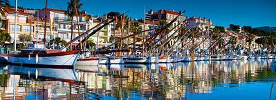 Port de Bandol un matin de Janvier