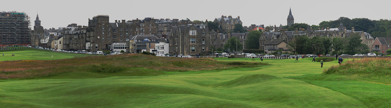 The Old Course at Saint Andrews.  The birthplace of golf!