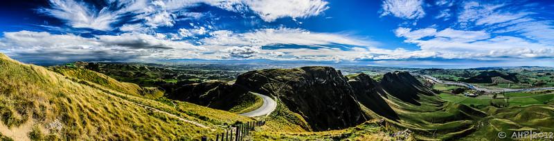 Hawke's Bay, New Zealand - as seen from Te Mata Peak