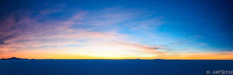 Sunrise on the Salar