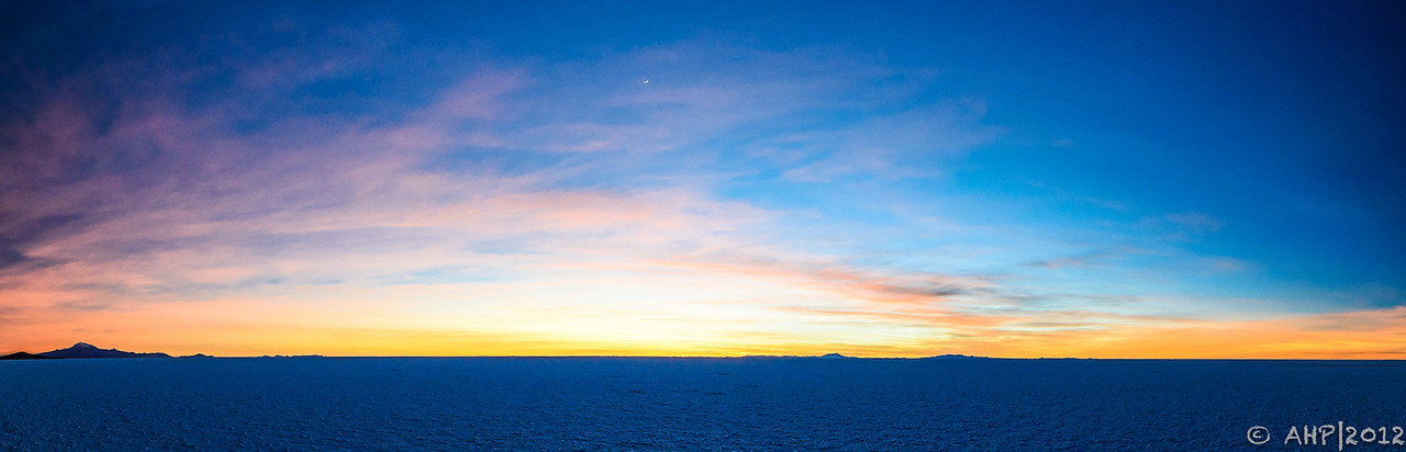 Sunrise on the Salar