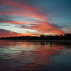 Sunset on the Cuiaba River