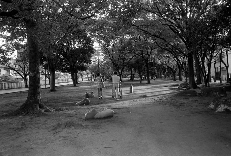 Joto-Koen park / Tokyo