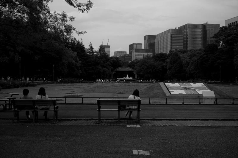 Hibiya-koen park / Tokyo