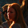 Sunset redhead