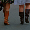 Cowgirl boots?