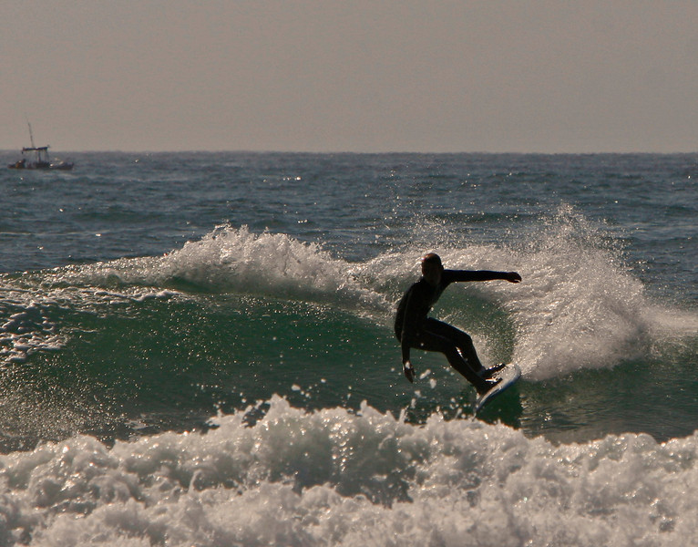 left turn on a right wave